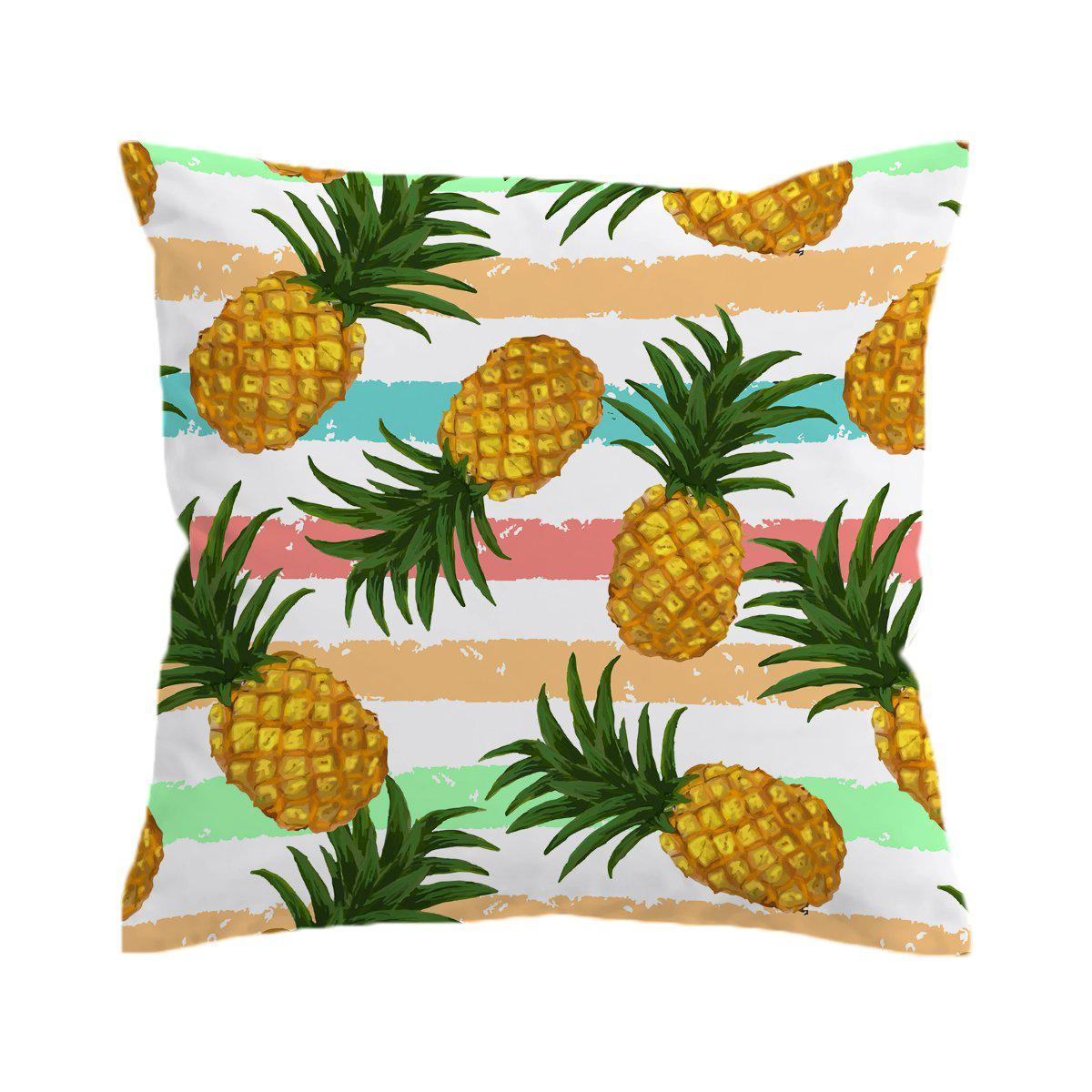 Pineapple Party Pillow Cover-Coastal Passion