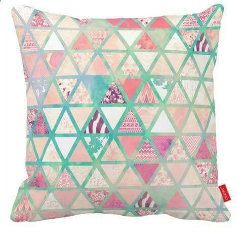 Pink and Turquoise Geometric Pillow Cover ❤ SALE!-Pillow Cover-Coastal Passion