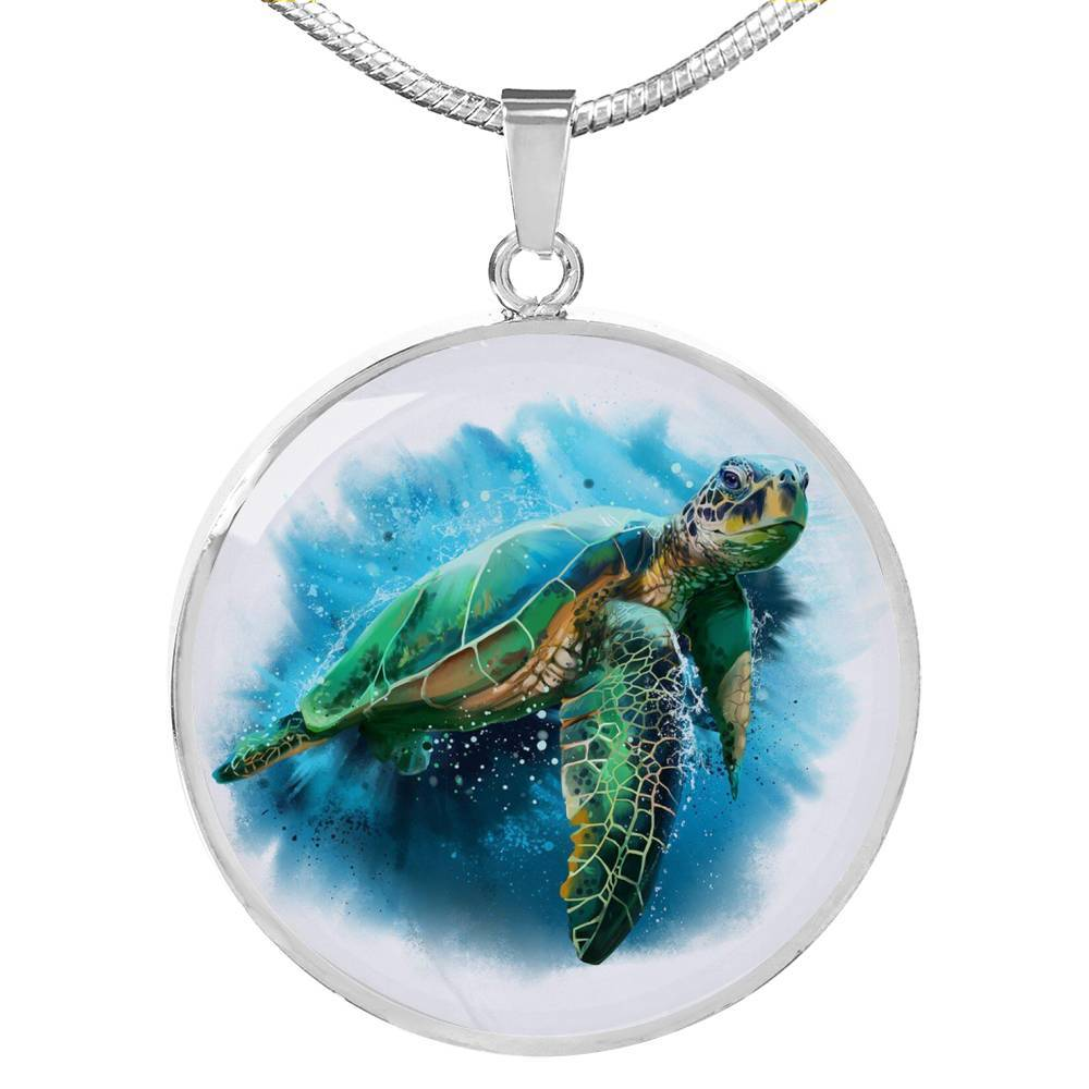 Queen of the Ocean Necklace-Coastal Passion