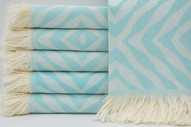100% Cotton Turkish Towel-Ripples 'n' Reefs Series - 100% Cotton Towels-Coastal Passion