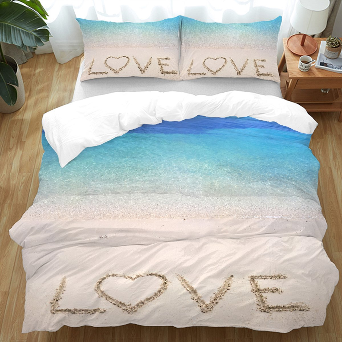 Sandy Love Bedding Set-Coastal Passion