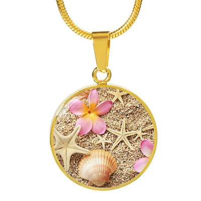 Sandy Necklace-Jewelry-Luxury Necklace (Gold)-Coastal Passion