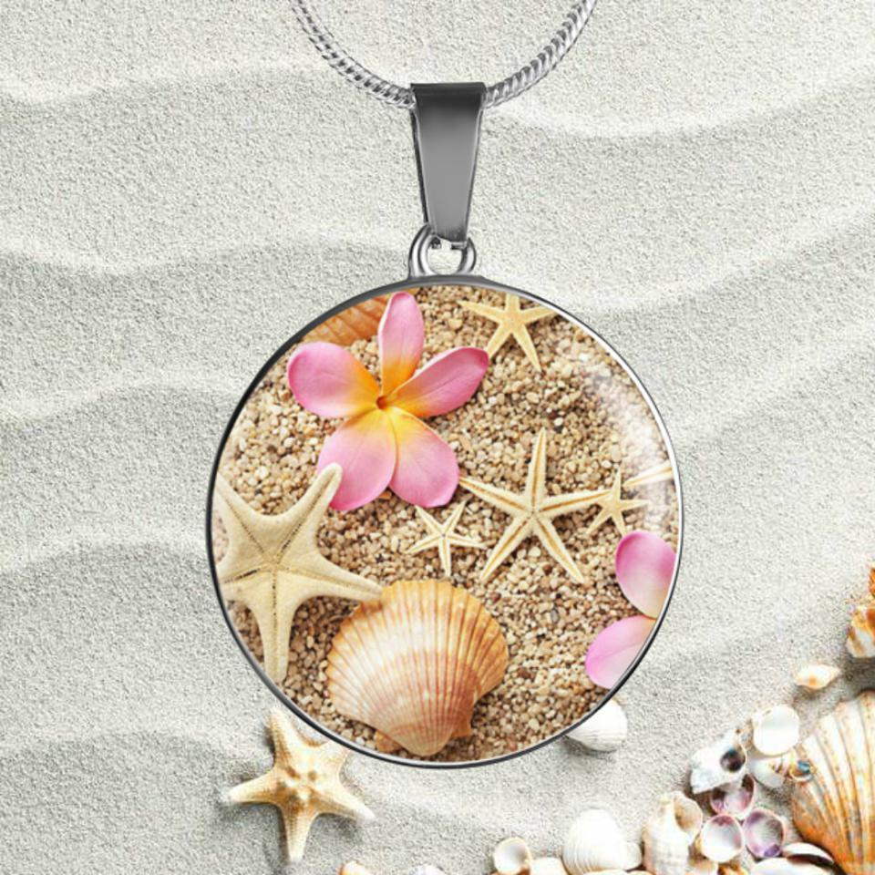 Sandy Necklace-Jewelry-Coastal Passion