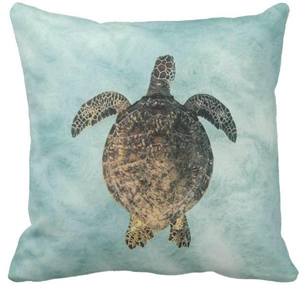 "Sea Bed Pillow Cover-Pillow Cover-17"" x 17""-Standard-Coastal Passion"