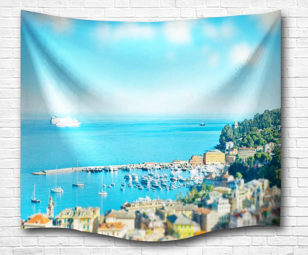 Sea Breeze Wall Tapestry--Coastal Passion