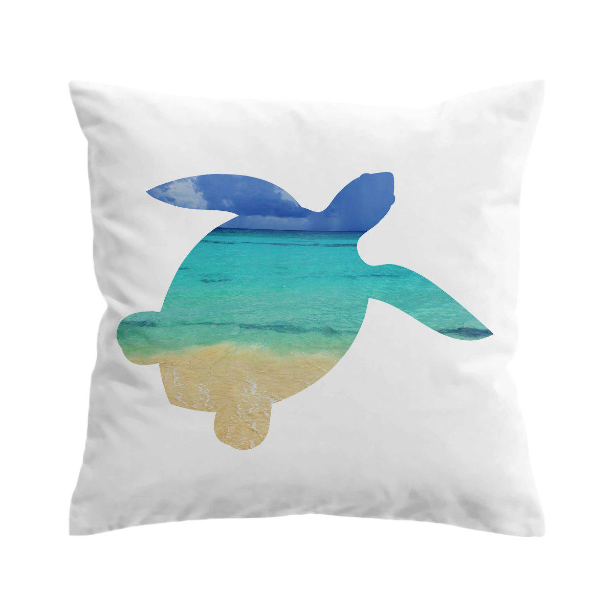 Sea Turtle Bay Pillow Cover-Coastal Passion