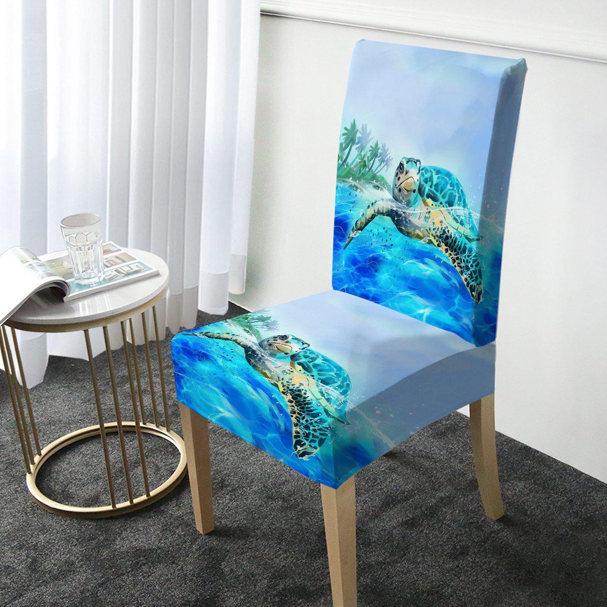 Sea Turtle Life Chair Cover-Coastal Passion