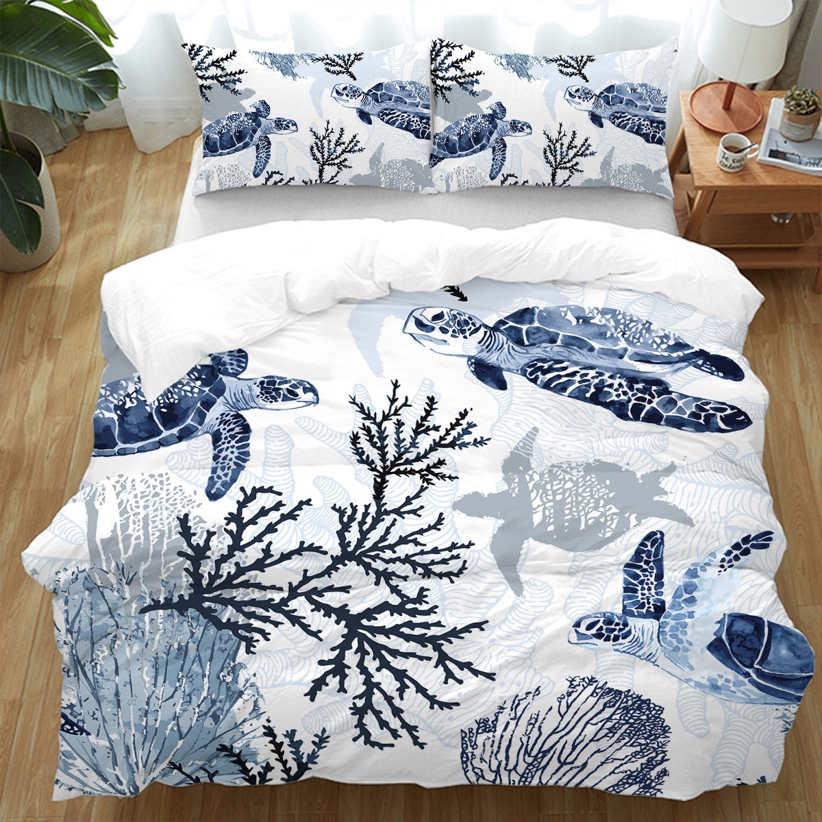 Sea Turtle Wonders Bedding Set-Coastal Passion