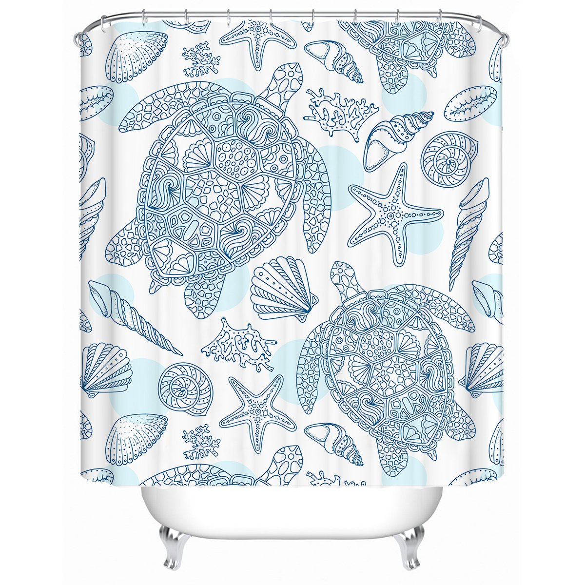 Sea Turtles Way Shower Curtain