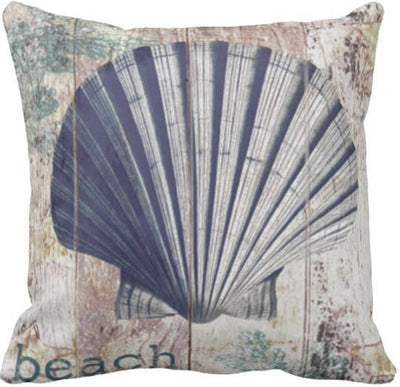 Seashells By The Seashore Collection-Pillow Cover-Design 7-Coastal Passion