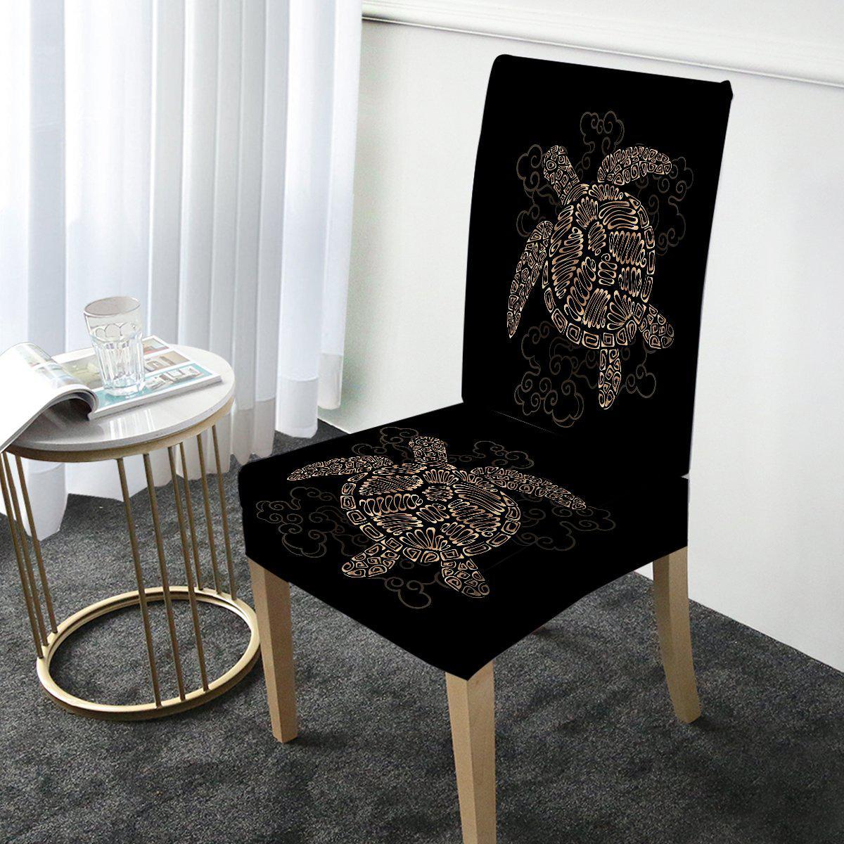 Shelly the Sea Turtle Chair Cover-Coastal Passion