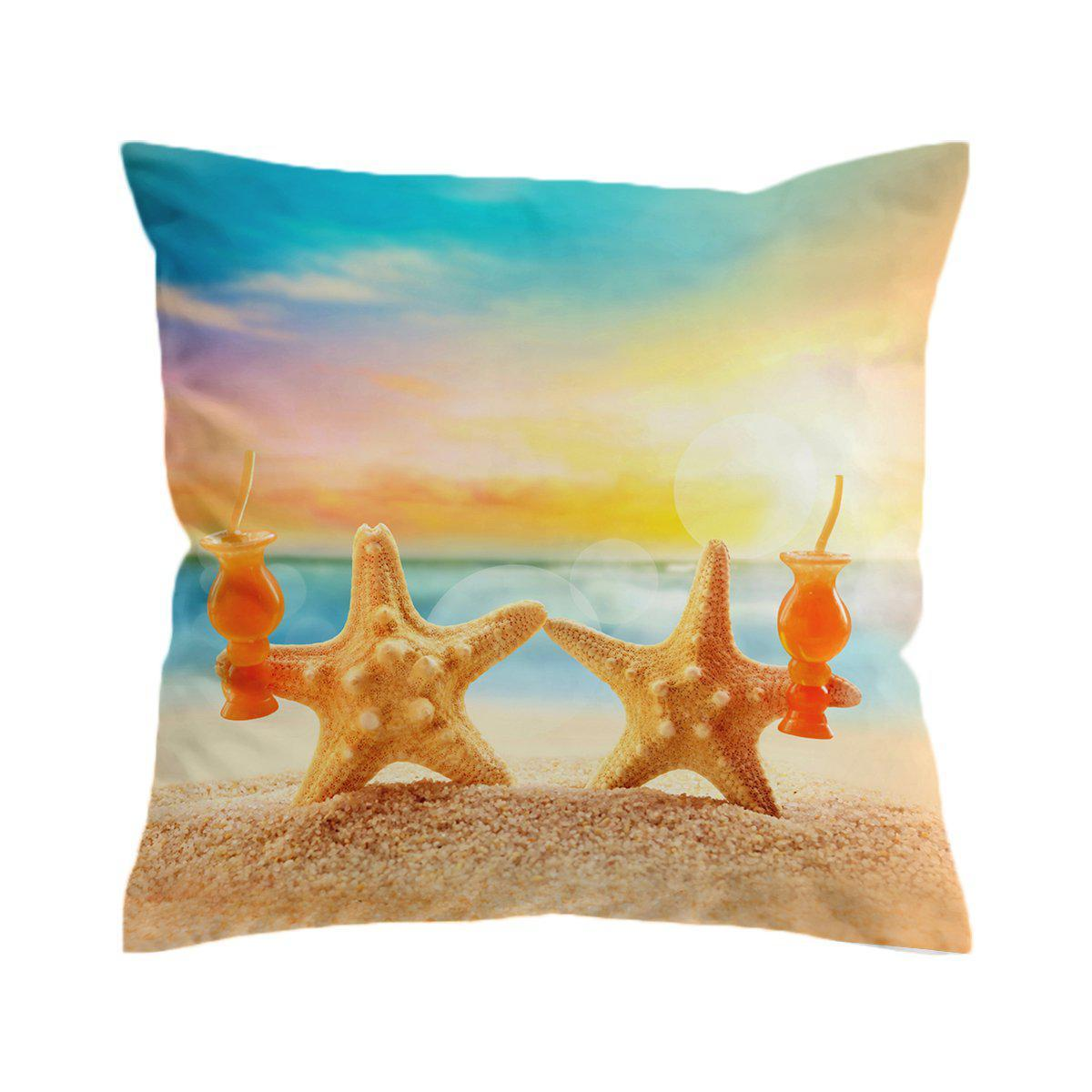 Starfish Friday Pillow Cover-Coastal Passion