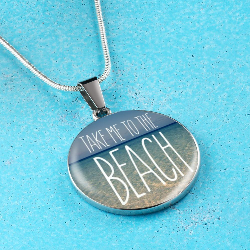 Take Me To The Beach Necklace-Jewelry-Coastal Passion