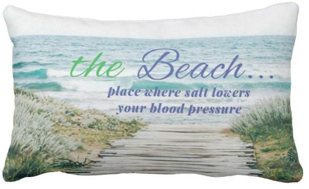 The Beach Pillow Cover ❤ SALE!-Pillow Cover-Coastal Passion