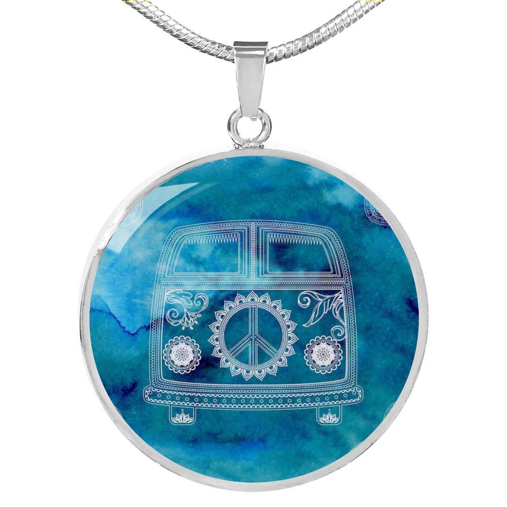 The Cool Bus Necklace-Coastal Passion