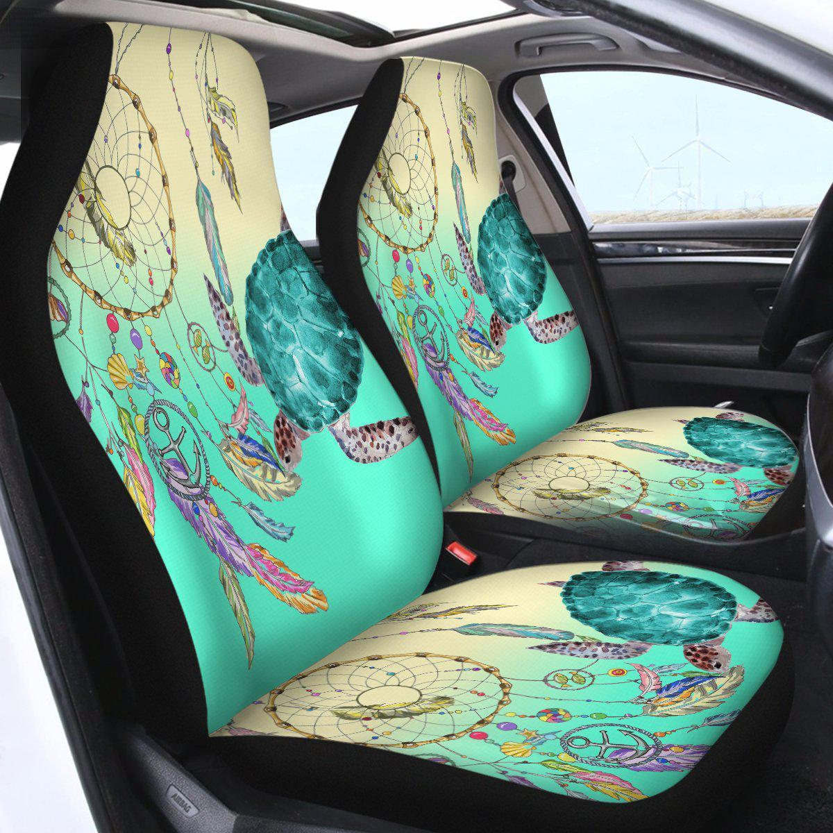 The Dreamcatcher and Sea Turtle Car Seat Cover