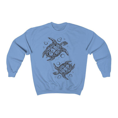 The New Turtle Twist Sweatshirt-Sweatshirt-Carolina Blue-L-Coastal Passion