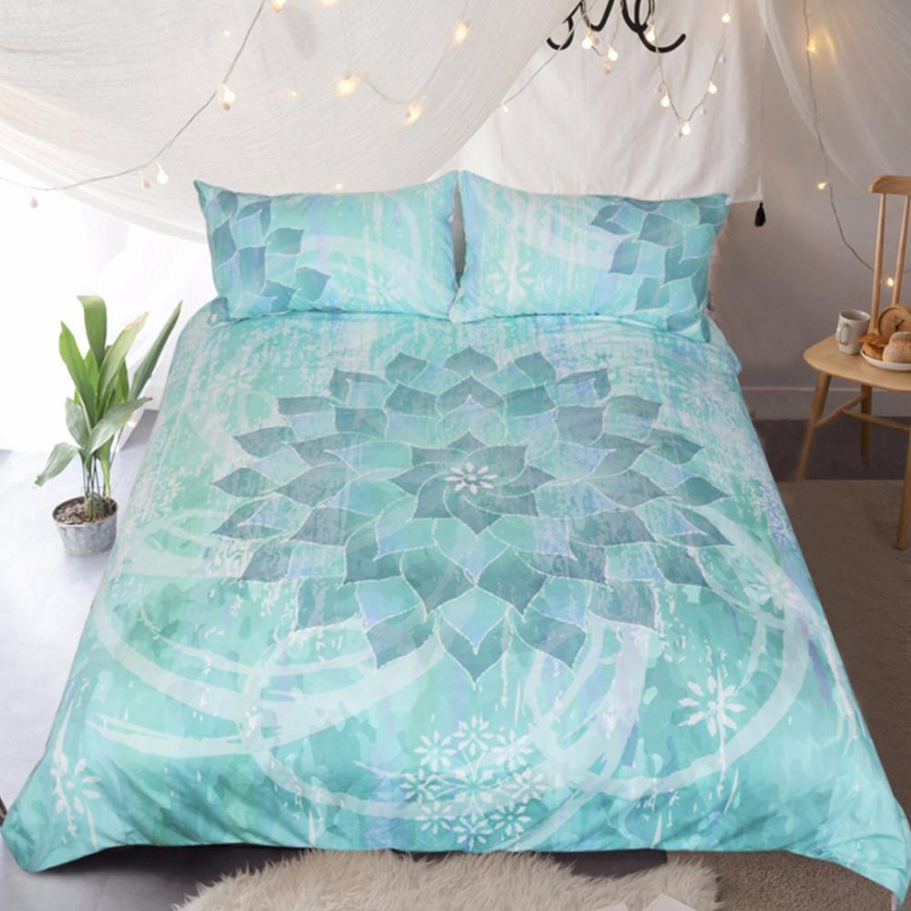 The Ocean Hues Bedding Set-Duvet Comforter Bedding Set-US Twin-Coastal Passion