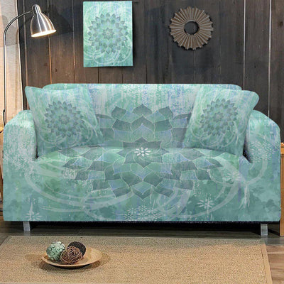 Sofa Slipcover-The Ocean Hues Couch Cover-Coastal Passion