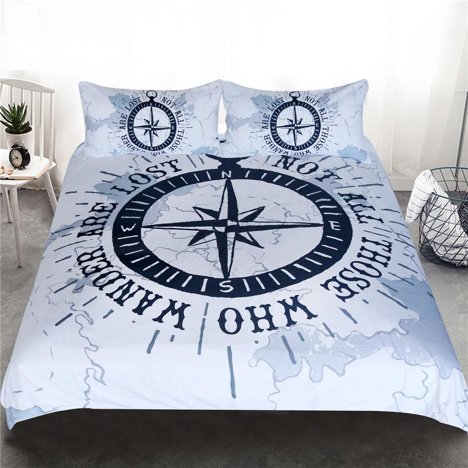 The Ocean Wanderer Bedding Set-Duvet Comforter Bedding Set-Coastal Passion
