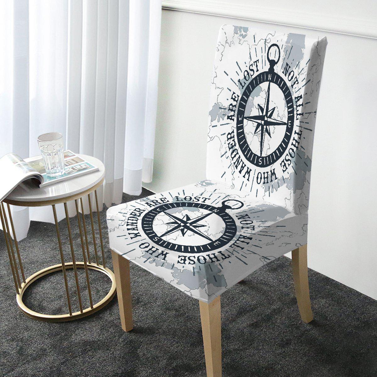 The Ocean Wanderer Chair Cover-Coastal Passion
