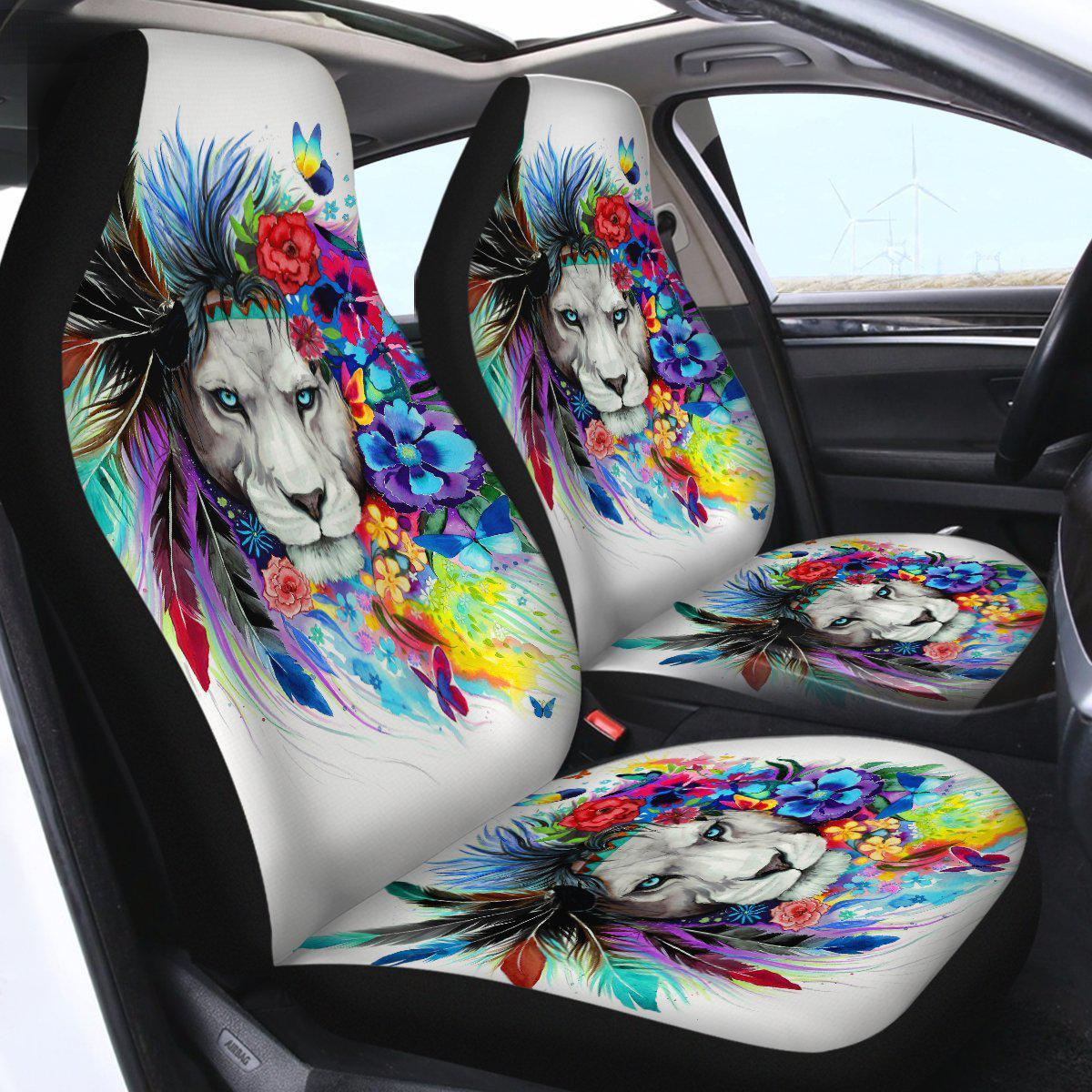 The Original Lion Vibes Car Seat Cover