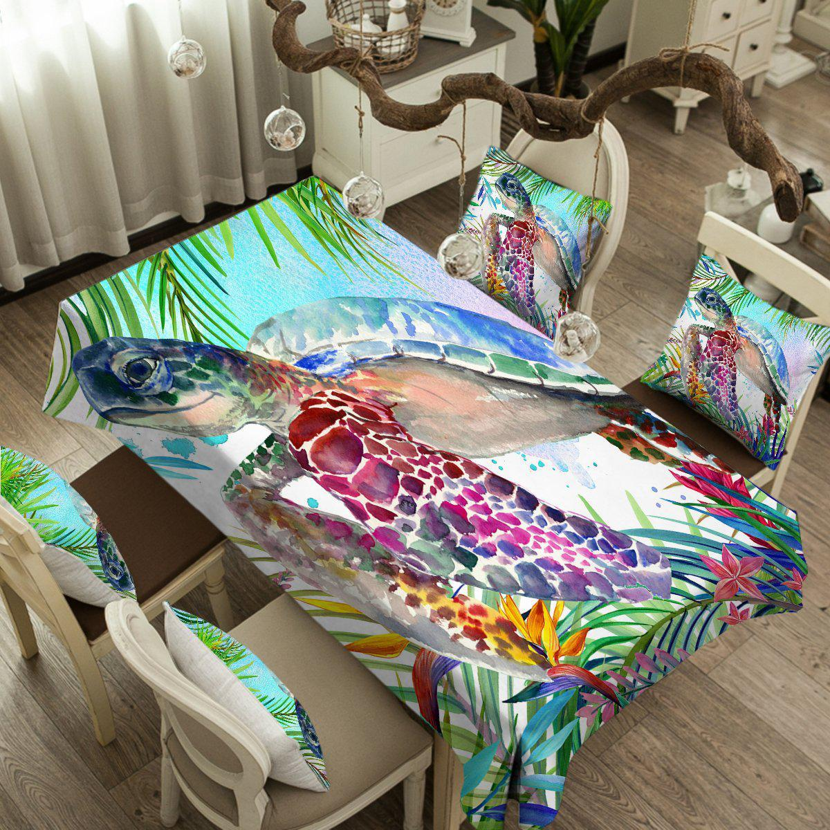 The Original Tropical Sea Turtle Tablecloth-Coastal Passion