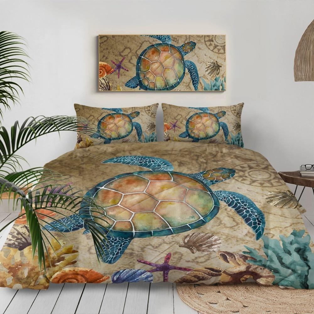 The Original Turtle Island Bedding Set-Coastal Passion