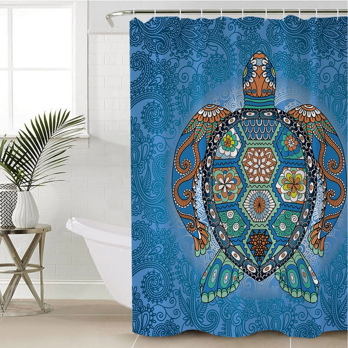 The Original Turtle Totem Shower Curtain