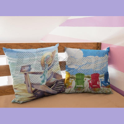 The Summer Collection NEW!-Pillow Cover-Coastal Passion