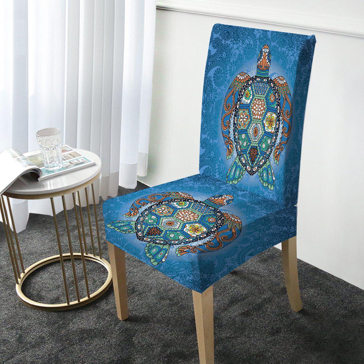 The Turtle Totem Chair Cover-Coastal Passion