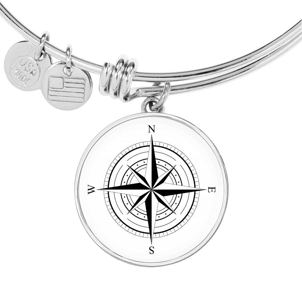 The Wind Rose Bangle Bracelet