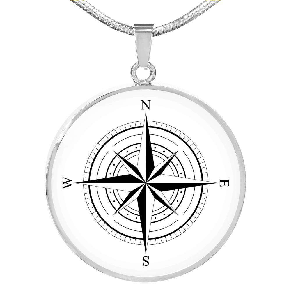The Wind Rose Necklace-Coastal Passion