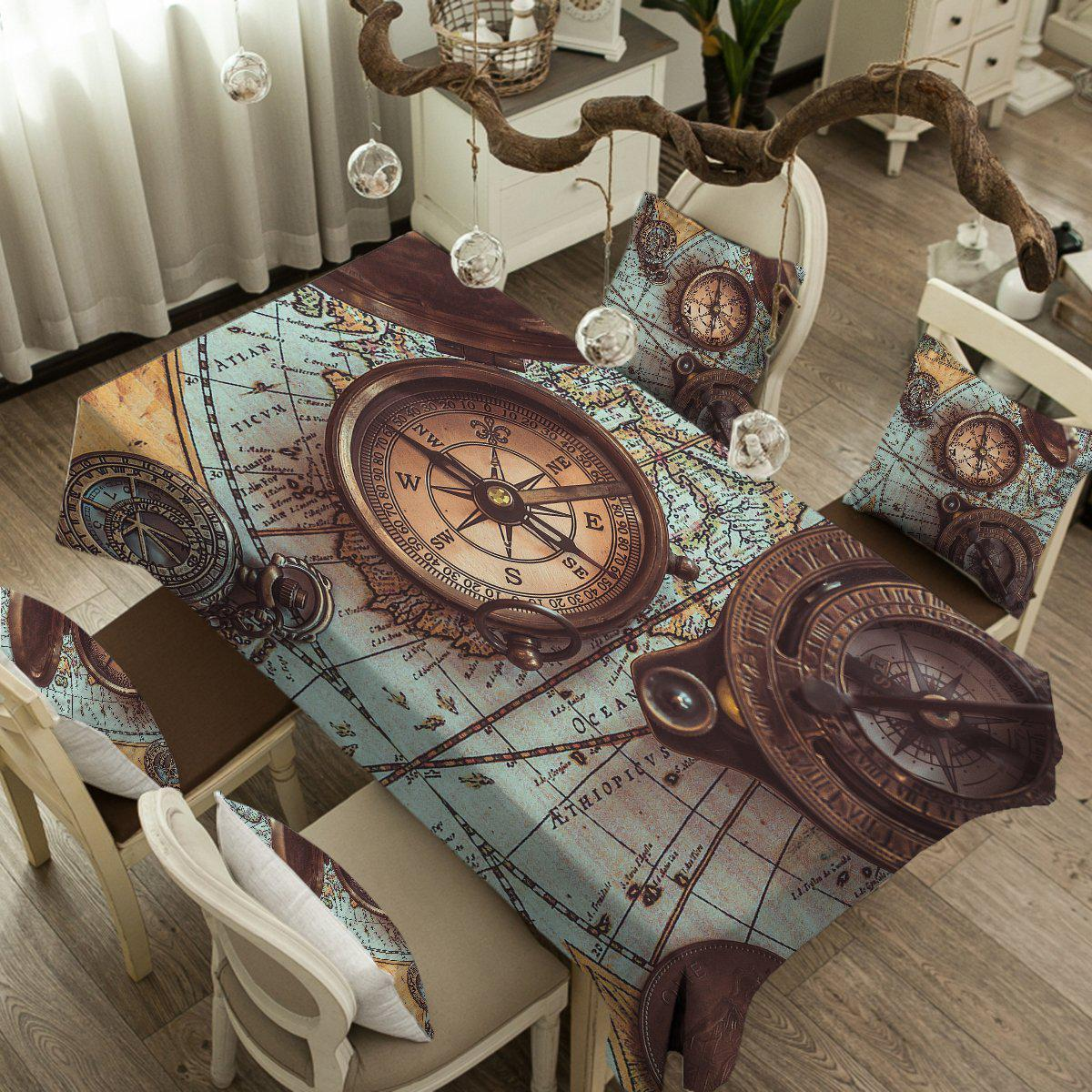 The World Wanderer Tablecloth-Coastal Passion