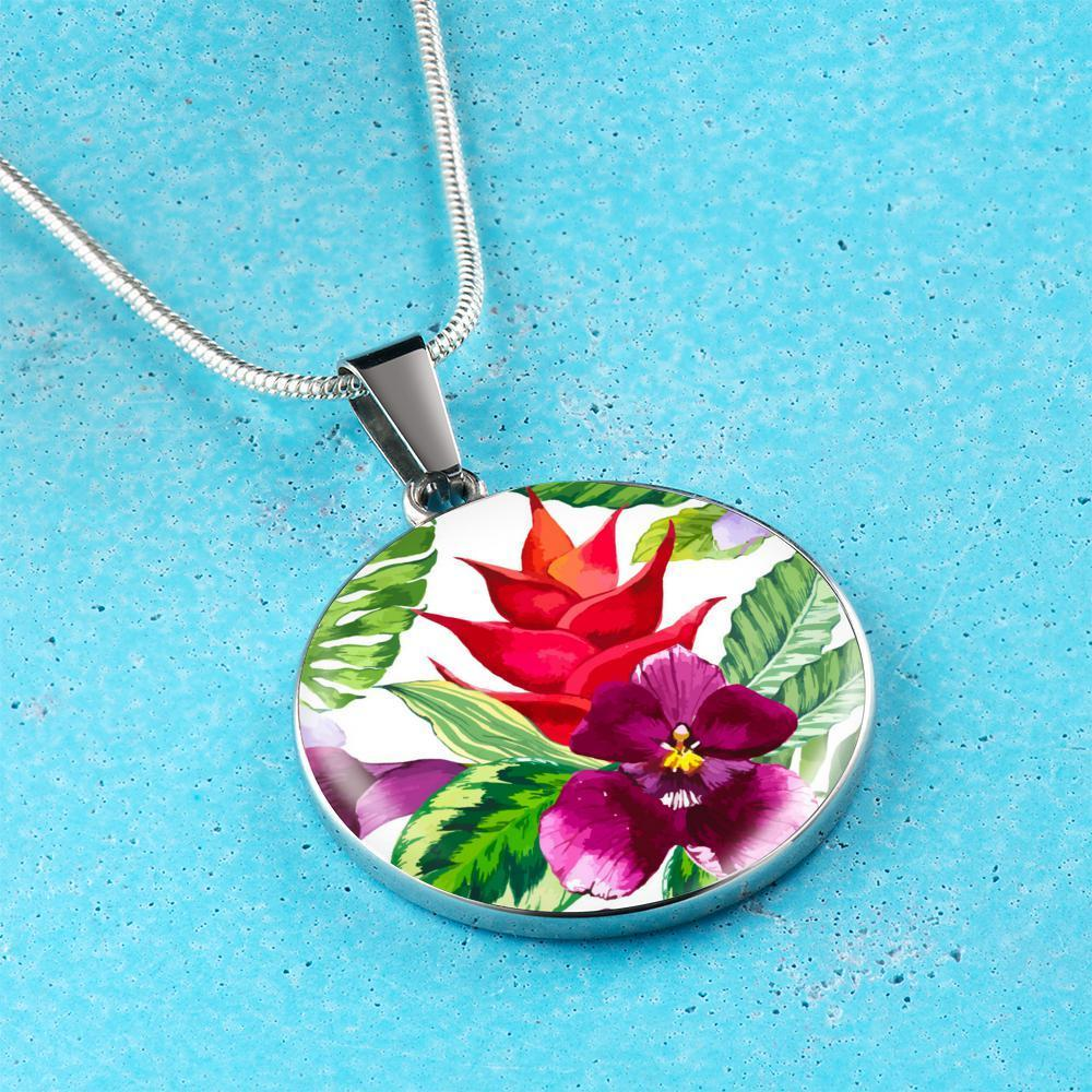 Tropical Colors Necklace-Jewelry-Coastal Passion