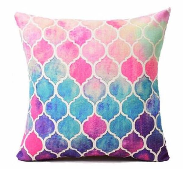 Tropical Colors Pillow Cover