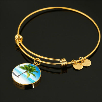 Tropical Dream Necklace/Bracelet-Jewelry-Luxury Bangle (Gold)-Coastal Passion