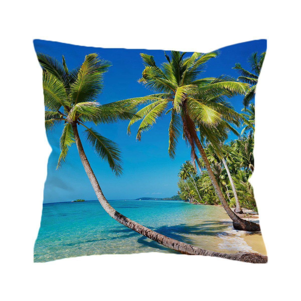 Tropical Escape Pillow Cover-Coastal Passion