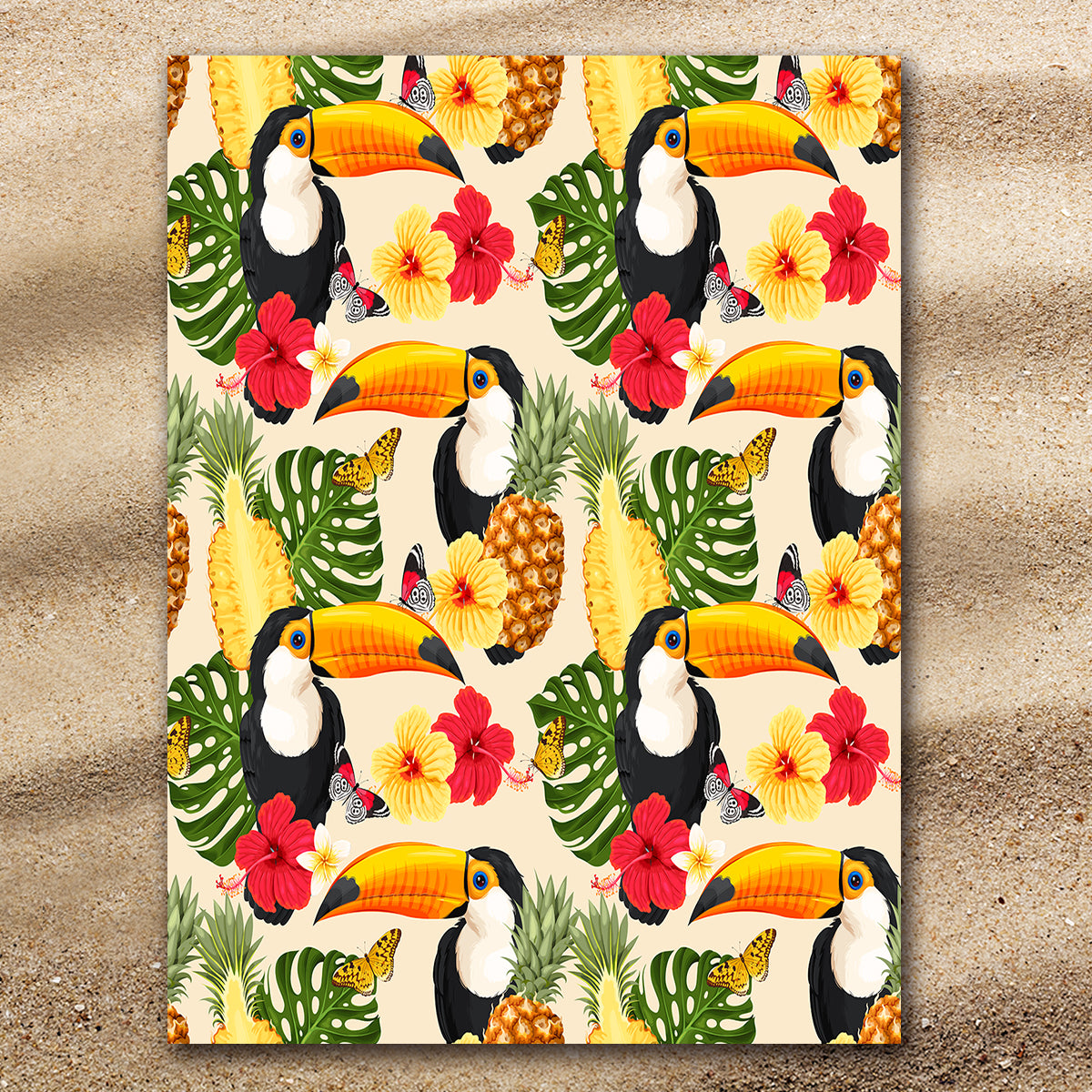 Tropical Toucan Extra Large Towel