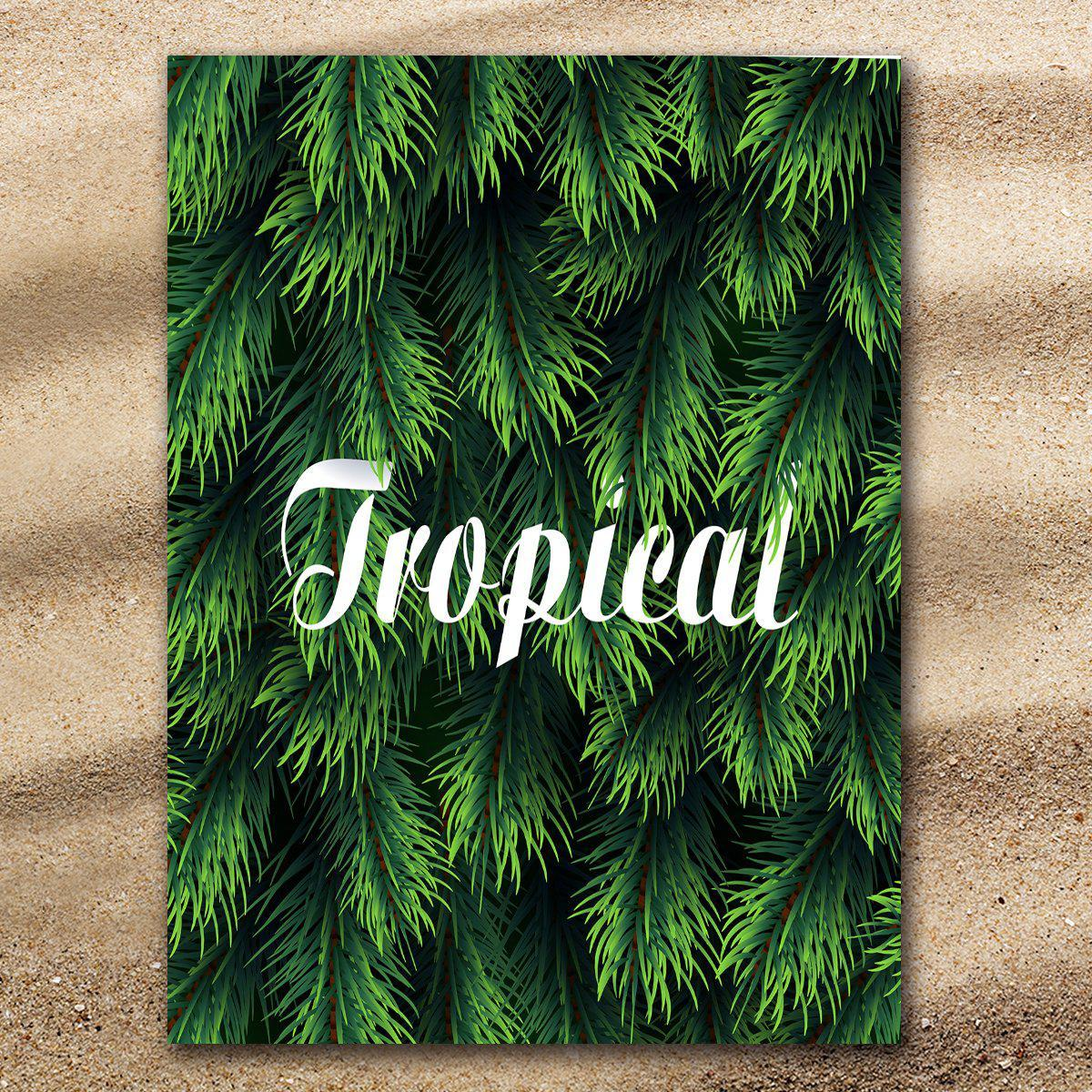 Tropical Extra Large Towel-Coastal Passion