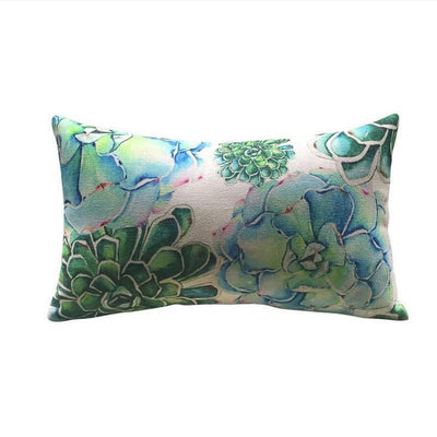 Tropical Green Collection-Pillow Cover-Tropical Green Collection 3-Coastal Passion