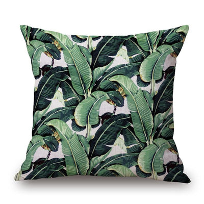 Tropical Lush Collection-Pillow Cover-Tropical Lush 1-Coastal Passion