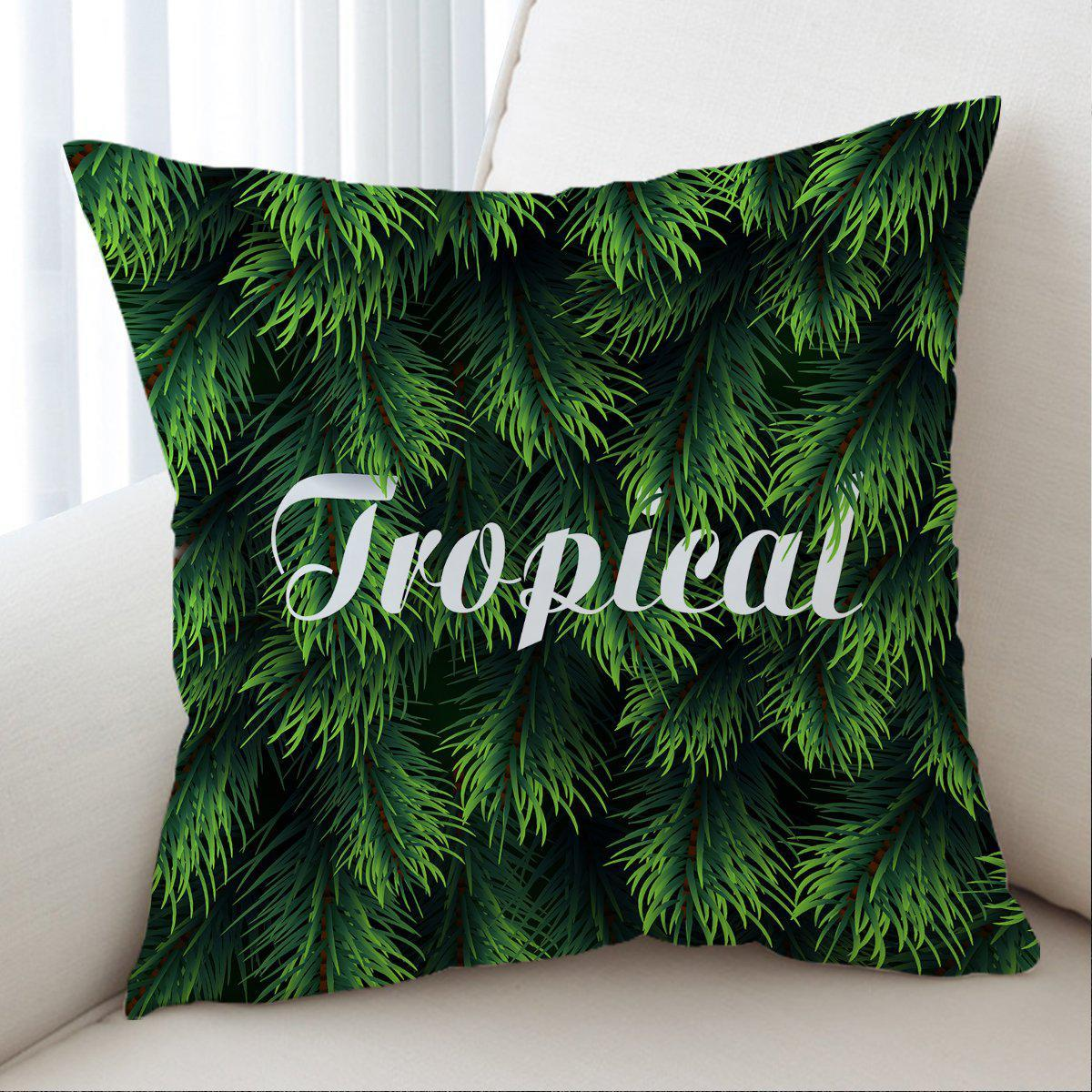 Tropical Pillow Cover-Coastal Passion