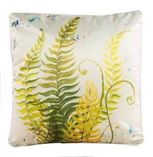 Tropical Plants Collection-Pillow Cover-Fern 2-Coastal Passion