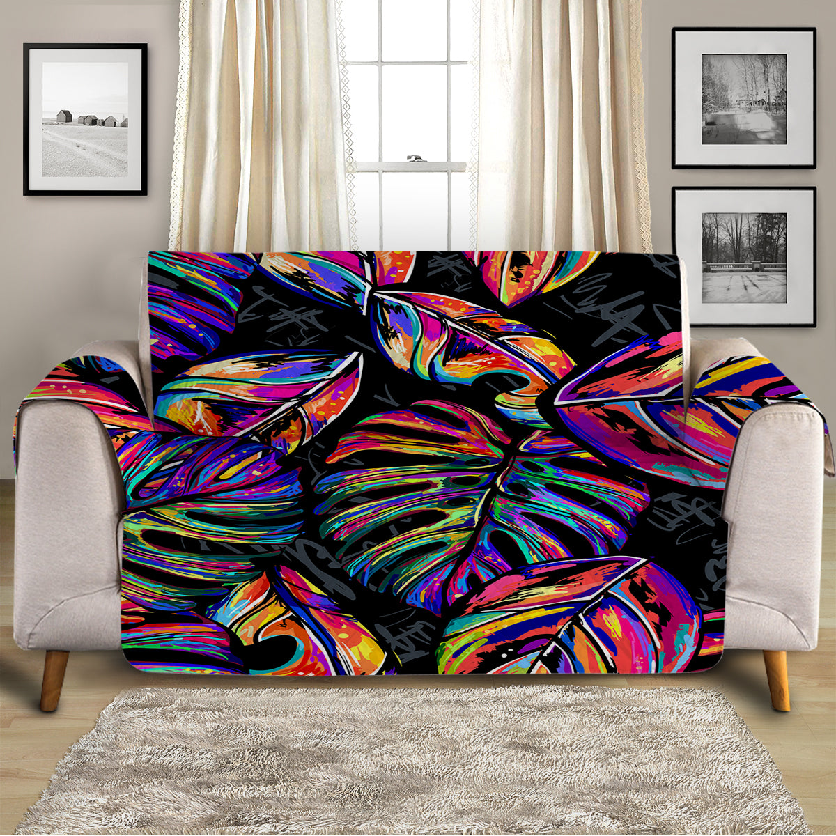 Electropical Sofa Cover