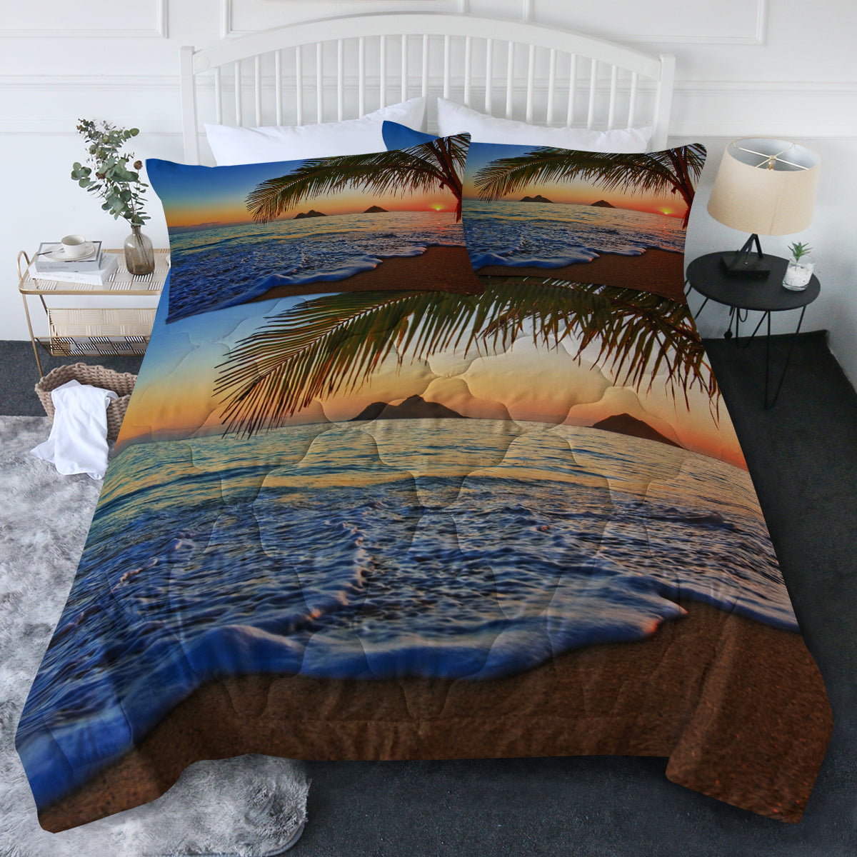 Tropical Sunset Comforter Set