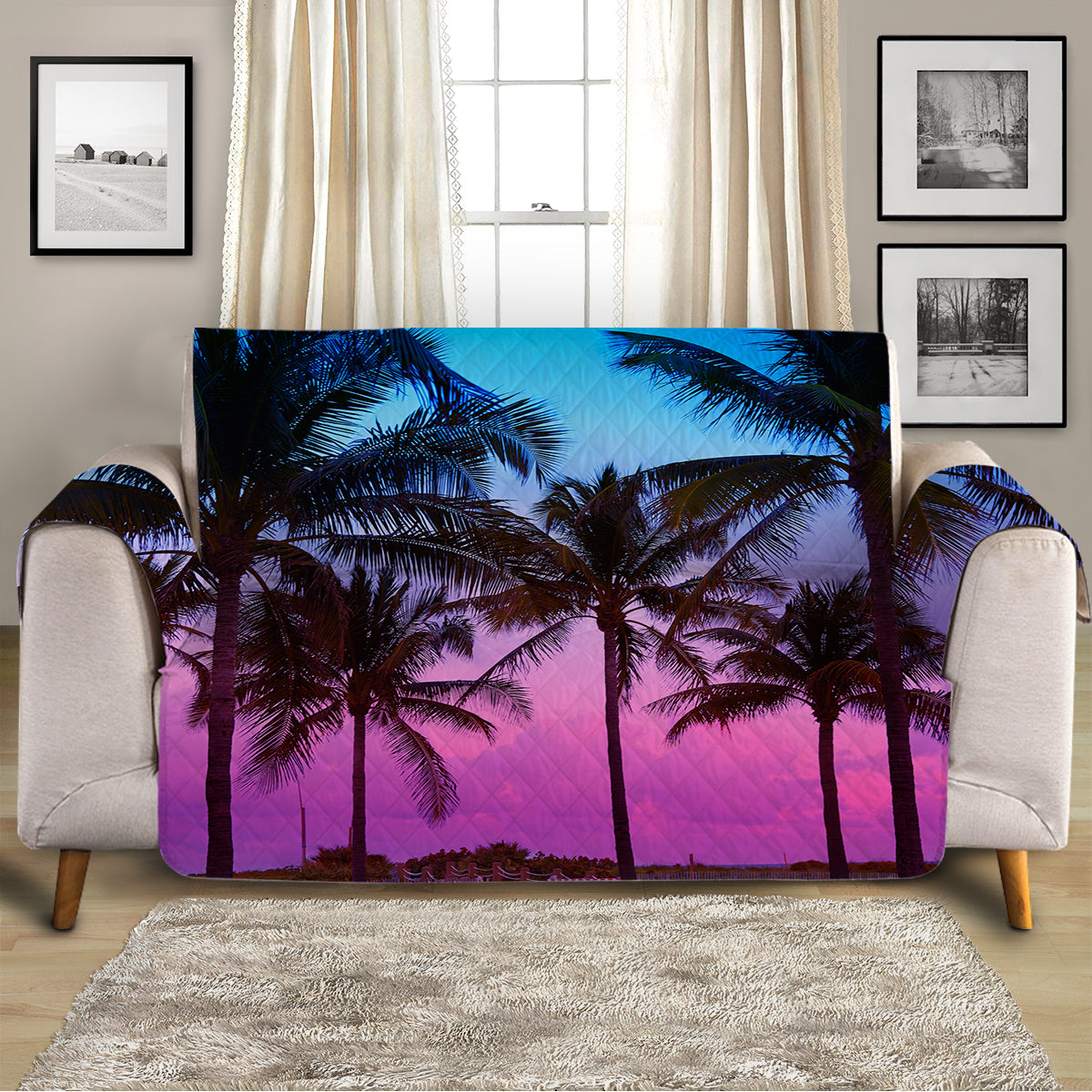 Tropical Skies Sofa Cover