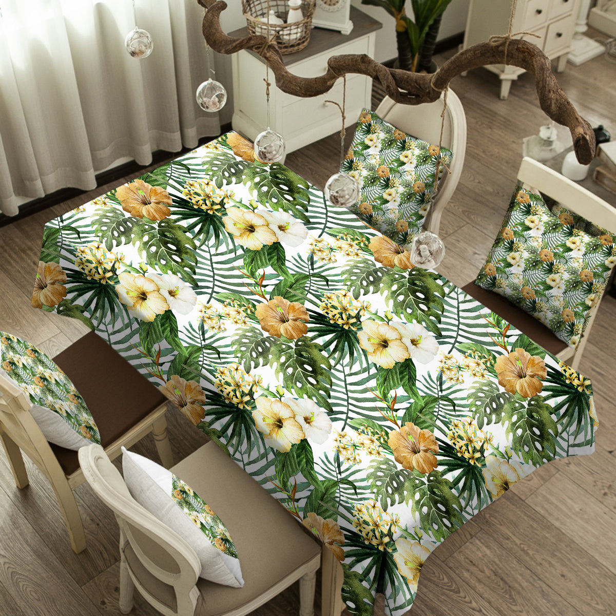 Hibiscus Tropics Tablecloth