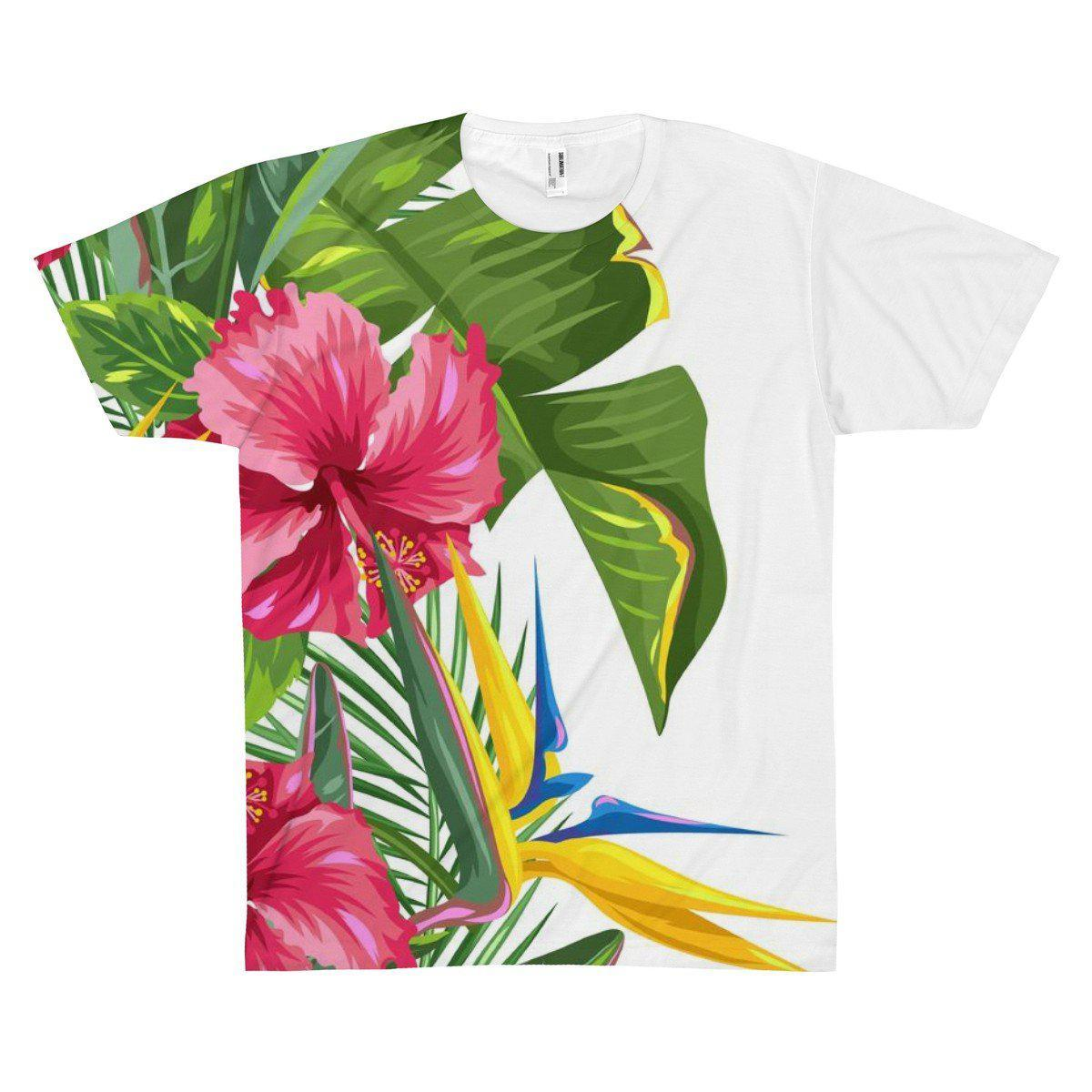 Tropical Weekend Tee-All Over Prints-XS-Coastal Passion