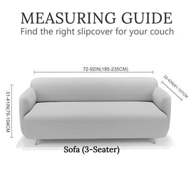 Sofa Slipcover-Tulum Couch Cover-Coastal Passion